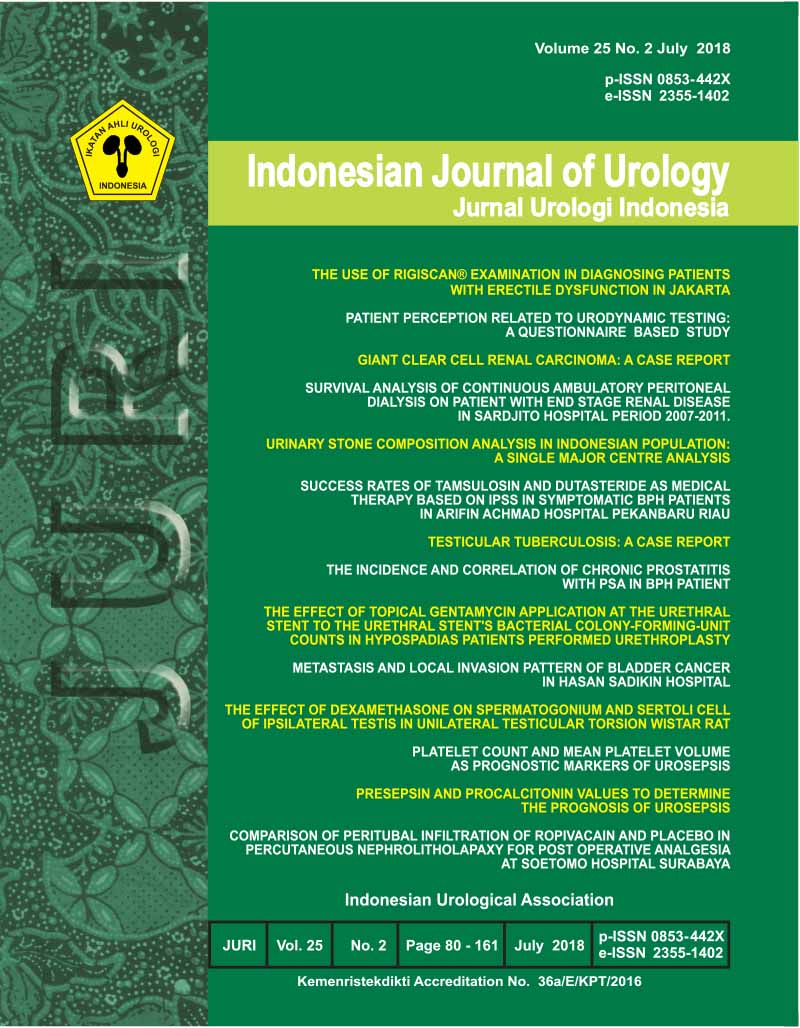 Indonesian Journal of Urology